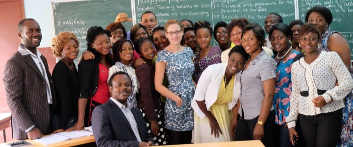 Postgraduate Students at the Ecole Normale Supérieure (ENS) Yaoundé comment on the Academic Writing class with Prof. Nkemleke, and the Network Centre for Academic Writing Excellence   (Posted by the class committee, Dec. 4, 2016)